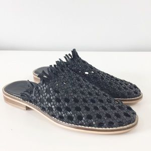 Free People Mirage Woven Leather miles Sz 38